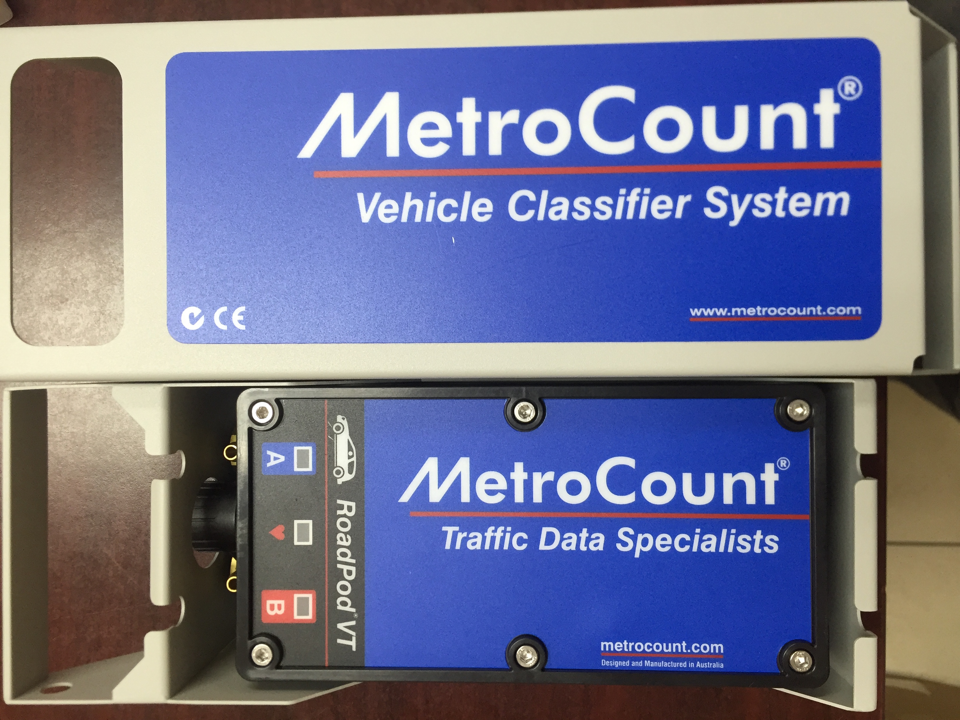 Movable traffic counters